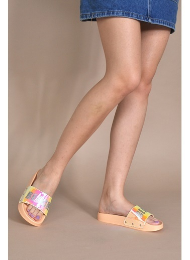 Vizon Ayakkabı Terlik Sarı